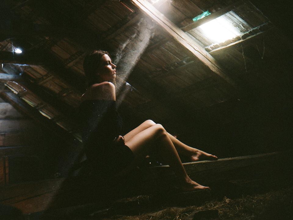 Portret foteny na film