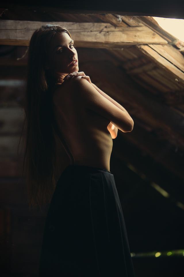 Portret v svetle